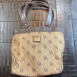 Dooney & Bourke Traditional Shoulder Hand Bag GUC